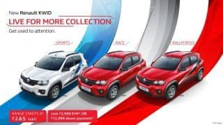Renault Kwid 'live for more' edition bags over 1000 bookings in a week