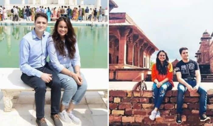 IAS Couple Tina Dabi And Aamir-ul-Shafi Give us Major Couple Twinning Goals During Their Trip to Agra – View Pictures