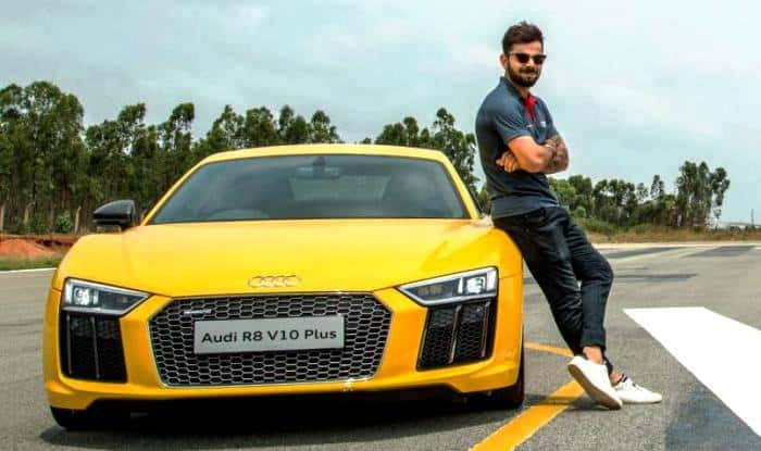 Virat Kohli And His Exotic Car Collection Audi R8 V10 Plus A8l Q7 A6 Fortuner Others India Com