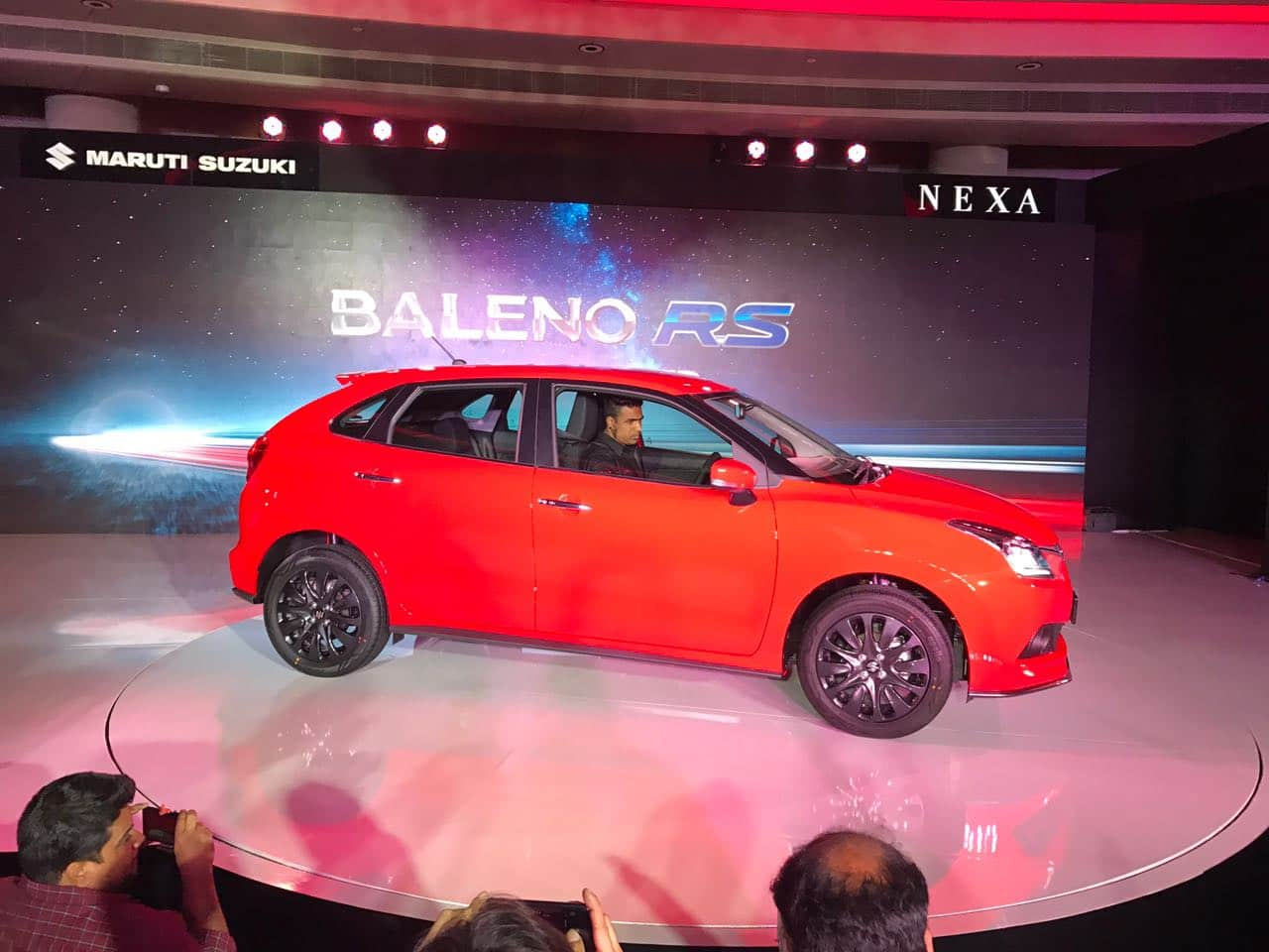 Maruti Baleno RS city wise prices in India
