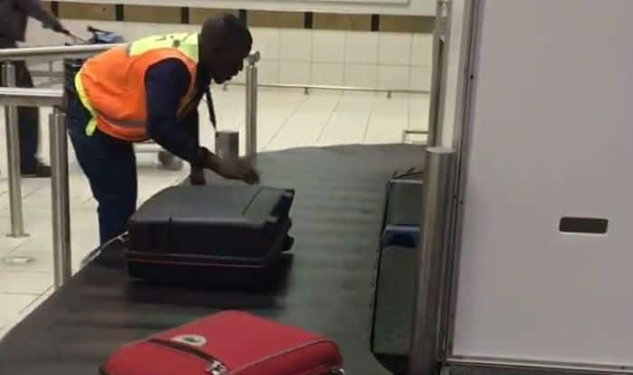 Viral Video: You'll be Shocked to See How This Airport Worker Handles Luggage – Watch
