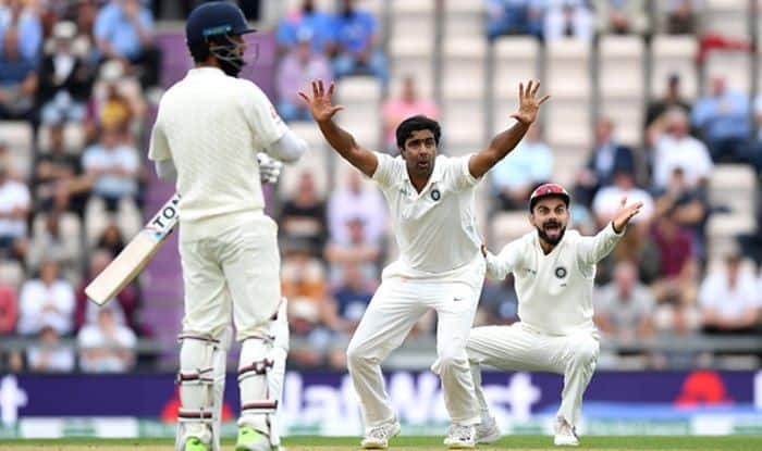 LIVE Cricket Score India vs West Indies 2018, 1st Test, Day 3 at Rajkot: Ravichandran Ashwin Bags Four to Bundle Windies For 181, India Enforce Follow-On