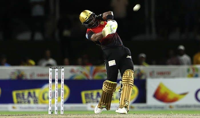 CPL 2018:Trinbago Knight Riders Skipper Dwayne Bravo Smashes Five Consecutive Sixes Against St Kitts & Nevis Patriots---Watch Video