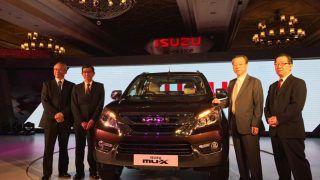 GST Effect: New Isuzu MU-X prices drop by INR 1.5 lakh