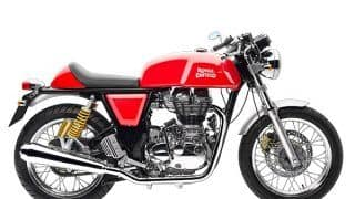 Royal Enfield Continental GT 750 spotted while final test runs; India launch by year end