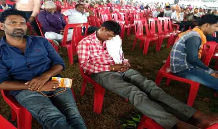 मोदी-शाह की रैली में खाली कुर्सियों से कटघरे में शिवराज, चिंता में भाजपा