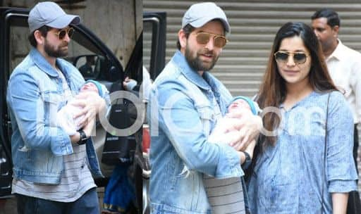Neil Nitin Mukesh And Rukmini Sahay Take Baby Nurvi Home; See First Pics