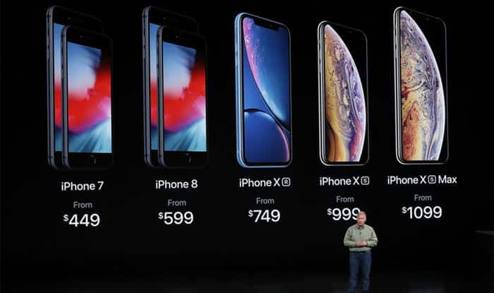 Apple Launches iPhone XR, XS, XS Max And a Smartwatch With Ultra-modern Health Features: Prices, Features And More Here