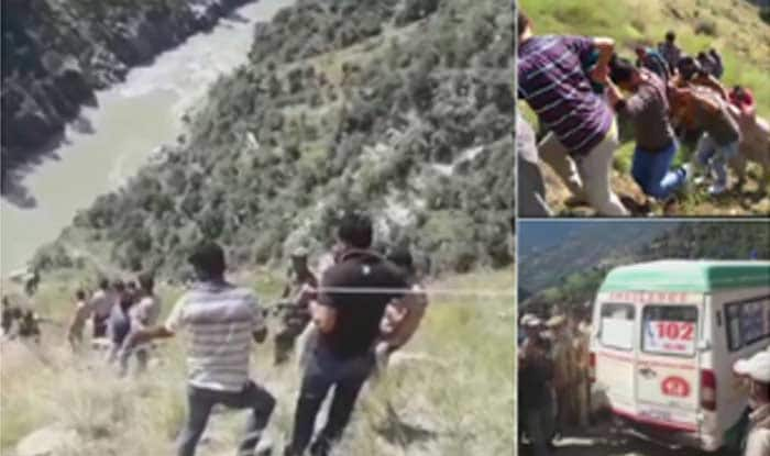Jammu And Kashmir: 17 Killed as Mini Bus Packed With Passengers Falls Into Gorge in Kishtwar District