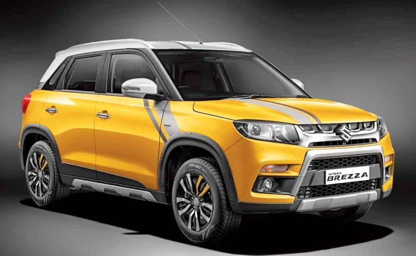 Maruti Suzuki Vitara Brezza sells 12,375 units in May 2017