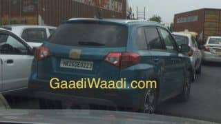 Maruti Suzuki Vitara (Hyundai Creta Rival) Spied Testing in India for the first time; India Launch, Price in India, Specs, Features