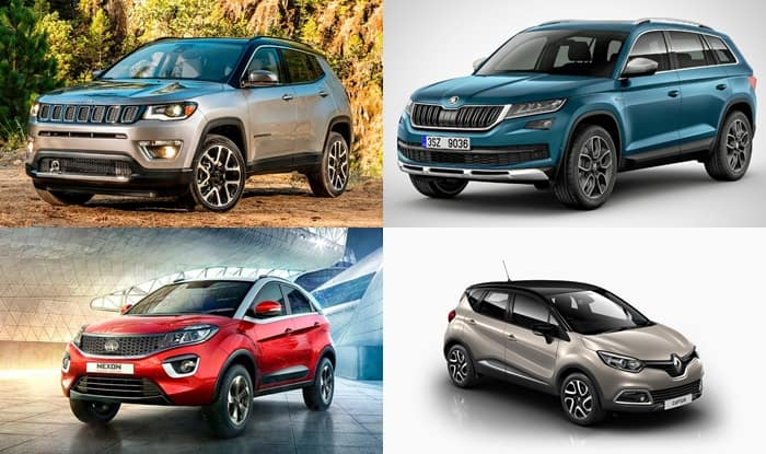 Top 4 SUVs launching in India – 2017