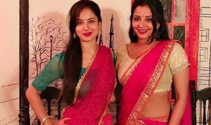 Bhojpuri Hottie And Nazar Fame Monalisa Shares a Cute Throwback Picture With Puja Banerjee, Check