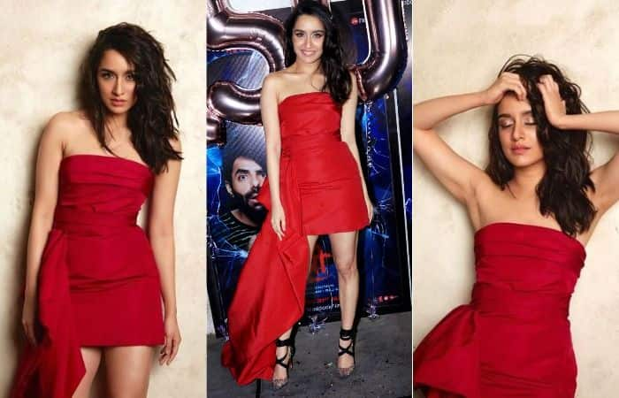 Shraddha Kapoor Looks Sexier Than Ever in This Short Off-Shoulder Red Dress, See Pics