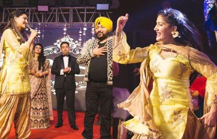 Haryanvi Sensation And Former Bigg Boss Contestant Sapna Choudhary Ditches Her Hot Thumkas, Performs Bhangra With Daler Mehndi, Check