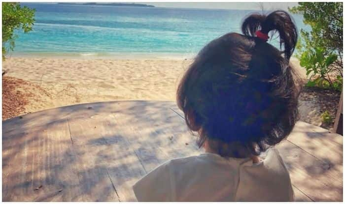 Soha Ali Khan And Kunal Kemmu's Daughter Inaaya Naumi Kemmu Enjoys by The Bay in The Maldives