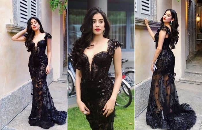Janhvi Kapoor Redefines Hotness in a Bold Sheer Black Gown, See Pictures