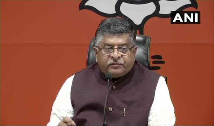 Rafale Deal Verdict: Are Rahul Gandhi And Congress Above Supreme Court, Asks Ravi Shankar Prasad