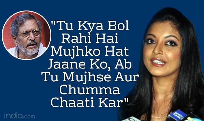 Tanushree Dutta Makes New Shocking Statements Against Nana Patekar in The Sexual Harassment Case