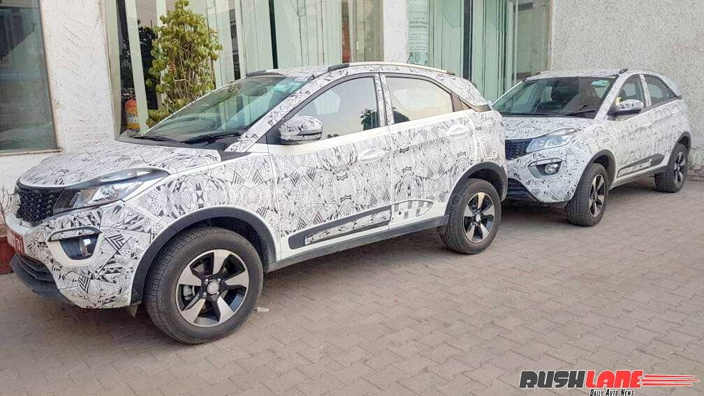 Tata Nexon spied again; price in India likely to go upto INR 8.5 lakh