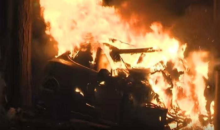 Mathura: Man Sets Own Car Ablaze, Fires Gunshots; Arrested For Triggering Panic