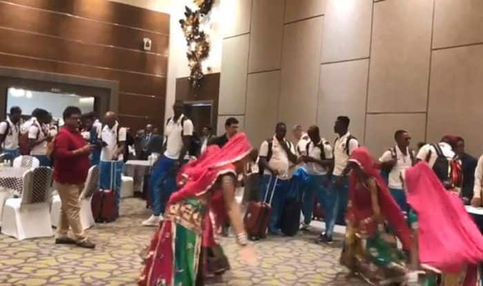 West Indies Tour of India: Windies Test Squad Arrives in India, Watch Video