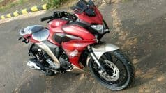 Yamaha Fazer 250 spotted completely undisguised in red colour; Launch in October 2017