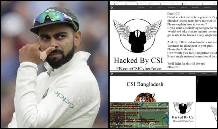 Virat Kohli's Official Website Hacked by Bangladeshi Fans Protesting Against 'Cheating' in Asia Cup 2018 Final — PIC