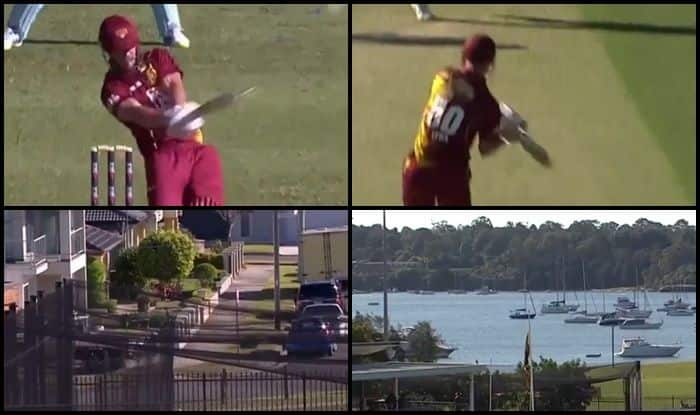 JLT One Day Cup, New South Wales Blues vs Queensland Bulls: Chris Lynn Scores Breathtaking Ton, Hits a Six in The Parking Zone — WATCH