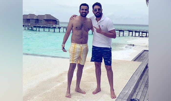 Yuvraj Singh Joins Zaheer Khan, Sagarika Ghatge in Maldives For Zak's 40th Birthday Celebrations — PIC