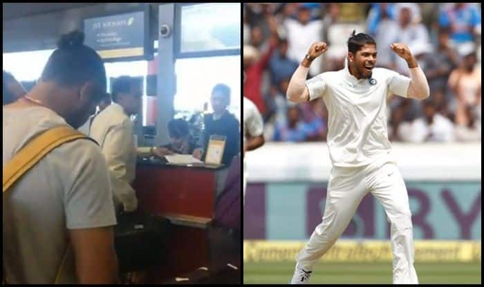 India vs West Indies 2nd Test: Indian Journo Praises Man of The Match Umesh Yadav For Not Using Status With Jet Airways Staff — WATCH