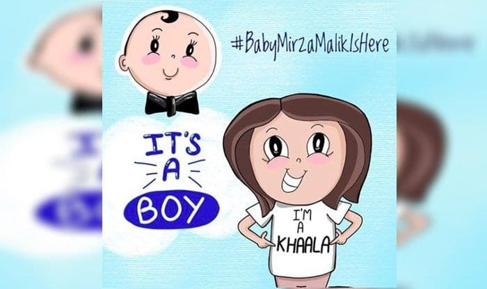 Sania Mirza And Shoaib Malik Name Their Baby Boy Izhaan