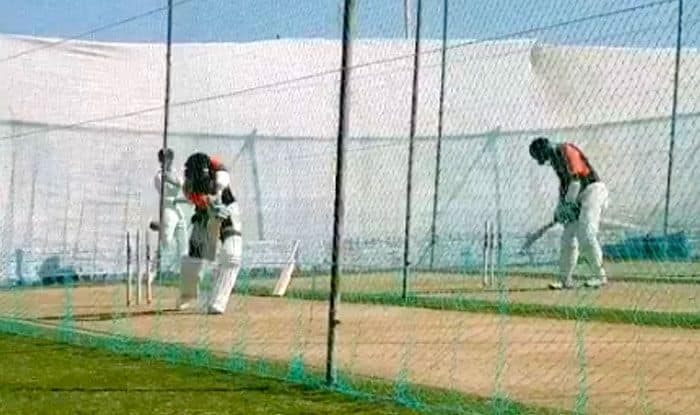 India vs West Indies 1st Test Rajkot: India Captain Virat Kohli Hitting Balls in The Net Shows he is Raring to go — WATCH