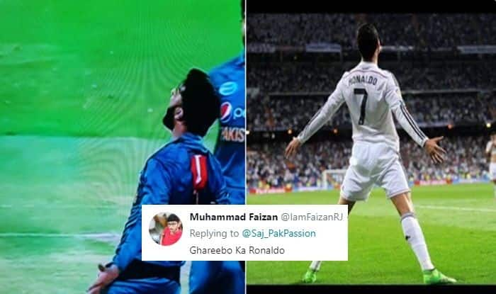 Pakistan Journalist Compares Juventus' Cristiano Ronaldo's Celebrating Style With Imad Wasim, Gets TROLLED Brutally