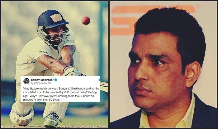 Vijay Hazare Trophy 2018-19: Manoj Tiwary Slams Sanjay Manjrekar For Wrong Message With Series of Tweets