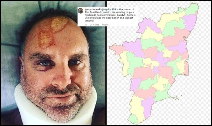 Former South African Cricketer Jonty Rhodes Pokes Fun at Matthew Hayden's Injury, Compares it to Map of Tamil Nadu