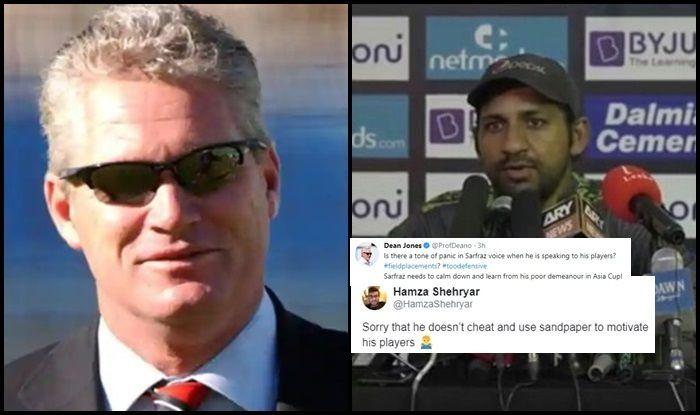 Pakistan vs Australia 1st Test Day 4 in Dubai: Dean Jones Gives Sarfaraz Ahmed Advice on His demeanour, Pakistan Fans TROLL Australian