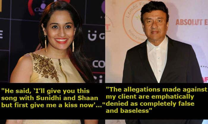 Shweta Pandit – Anu Malik's Sexual Harassment Case: Composer's Lawyer Issues a Statement Denying Claims