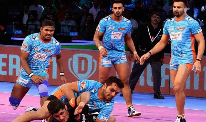 Pro Kabaddi League 2018, Match 17 Report: Maninder Singh Shines as Bengal Warriors Edge Out Telugu Titans 30-25