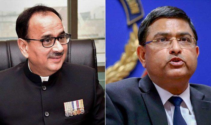 CBI Director Alok Verma (Left), Special Director Rakesh Asthana (Right)