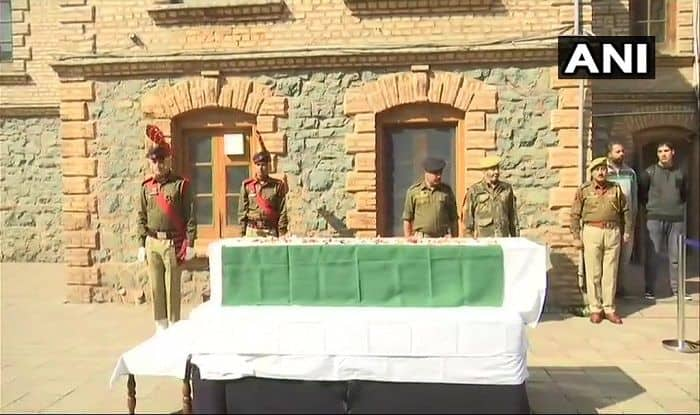 Wreath Ceremony Held For CISF ASI