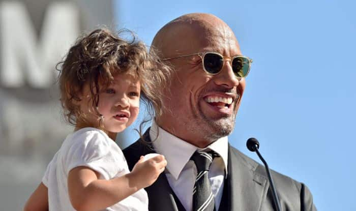 This Could Not Get Any Cuter: Dwayne Johnson Shares Picture of Daughter Painting His Nails Red