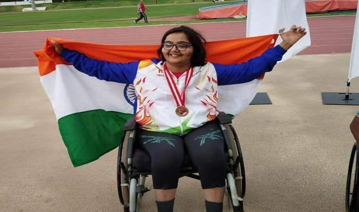 Ekta Bhyan Adds Another Gold to India's Tally, Wins Club Throw Event at Asian Para Games 2018