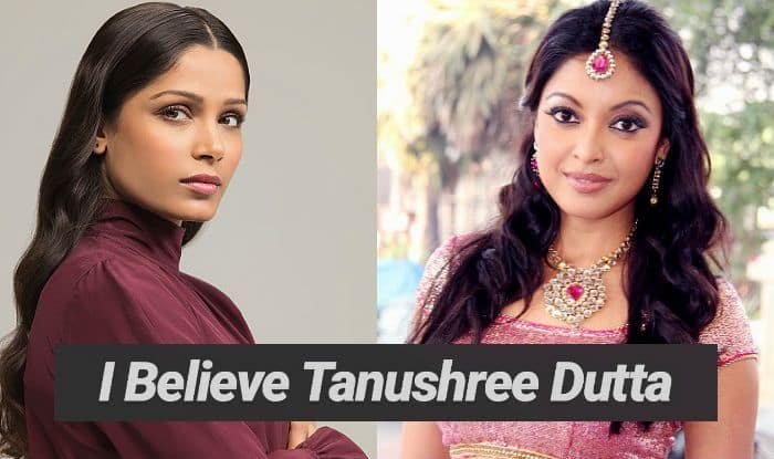 Freida Pinto's I Believe Tanushree Dutta Instagram Post in The Nana Patekar Sexual Harassment Case is How a Strong Support Looks Like