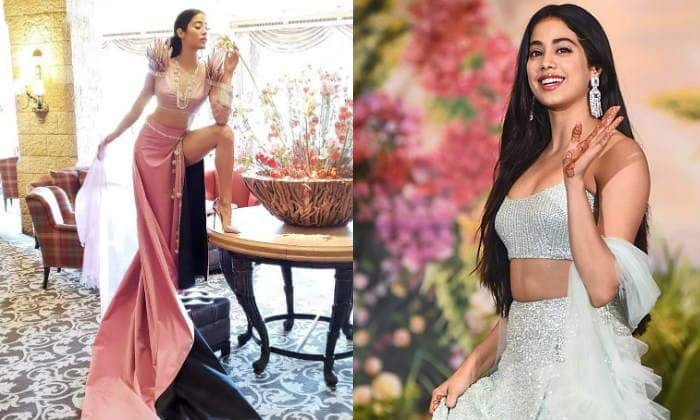 Janhvi Kapoor Looks Like Her Sexiest Best Wearing a Manish Malhotra Gown With a Thigh High Slit; See Picture