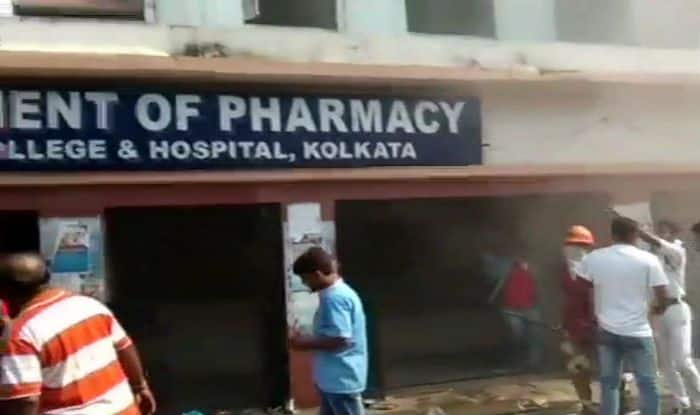 Major Fire Breaks Out at Kolkata Medical College And Hospital; All Patients Safe