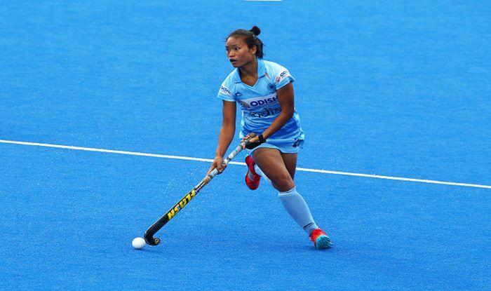 Navjot Kaur, Lalremsiami , India women's hockey team, India women beat Japan women, India vs Japan, Olympic Test Event, India women's hockey team, Sports News, India women's hockey team wins Olympic Test Event, India Women's Hockey, Hockey India