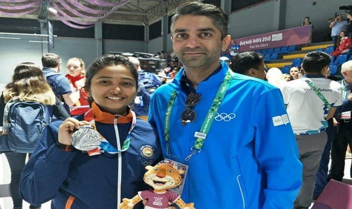 Youth Olympic Games 2018: Mehuli Ghosh Settles For Silver in 10m Air Rifle, Abhinav Bindra Congratulates Young Shooter