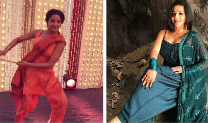 Bhojpuri Hot Bomb And Nazar Fame Monalisa Looks Her Sexiest Best as She Performs Dandiya on Dholida – Watch Viral Video