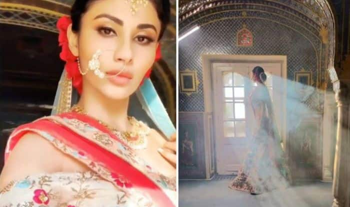 Naagin Hotness Mouni Roy Looks Drop-dead Gorgeous in Bridal Avatar – See Picture